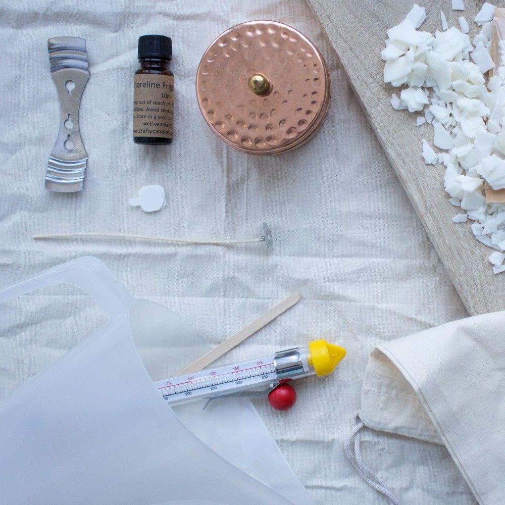 Mini Boho Candle Making Kit! soycandle soy candle