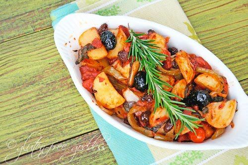 Roasted Sicilian Potatoes Recipe