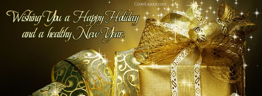 Wishing You A Happy Holiday Healthy New Year Facebook