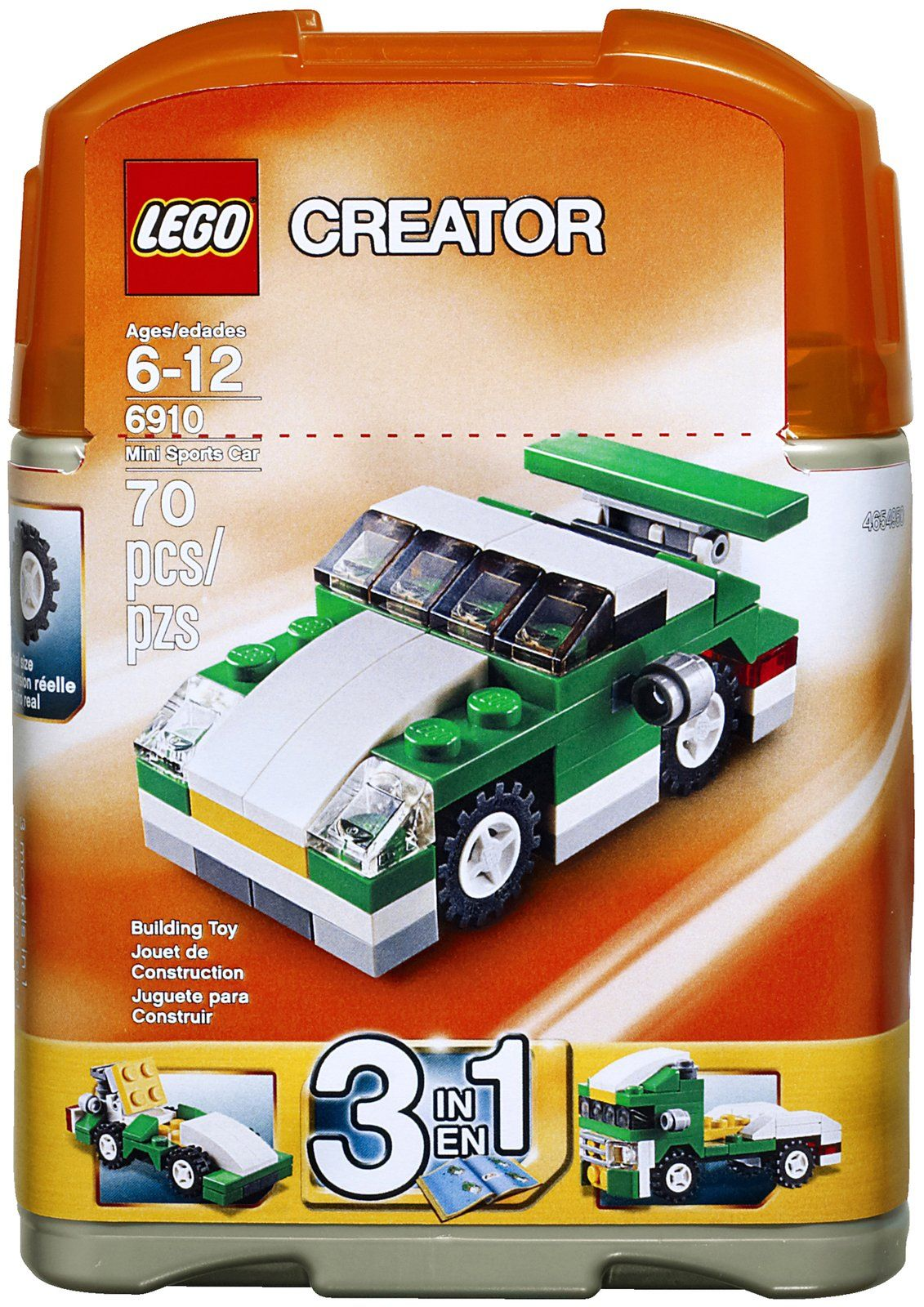 LEGO Creator Mini Sports Car 6910 Ready...go! Race through