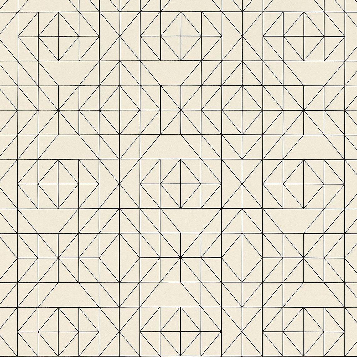 Papier Peint Noir Et Blanc Graphique papier peint salomon expansé sur intissé motig graphique
