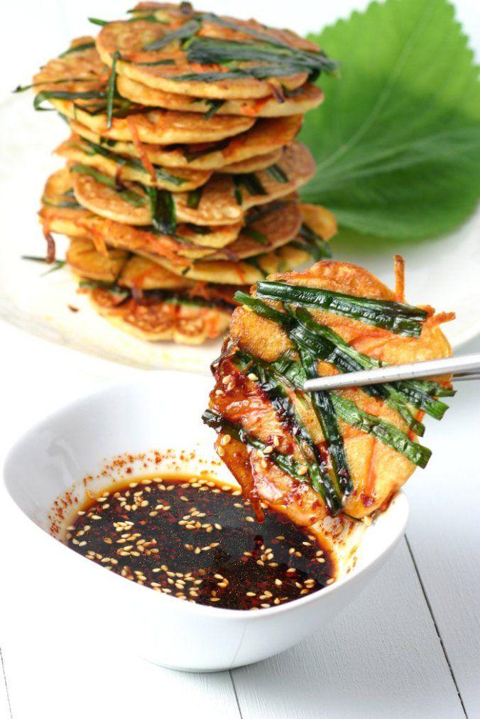Korean mung bean pancakes recipe mung bean pancakes and korean korean mung bean pancakes korean food recipesgluten forumfinder Choice Image