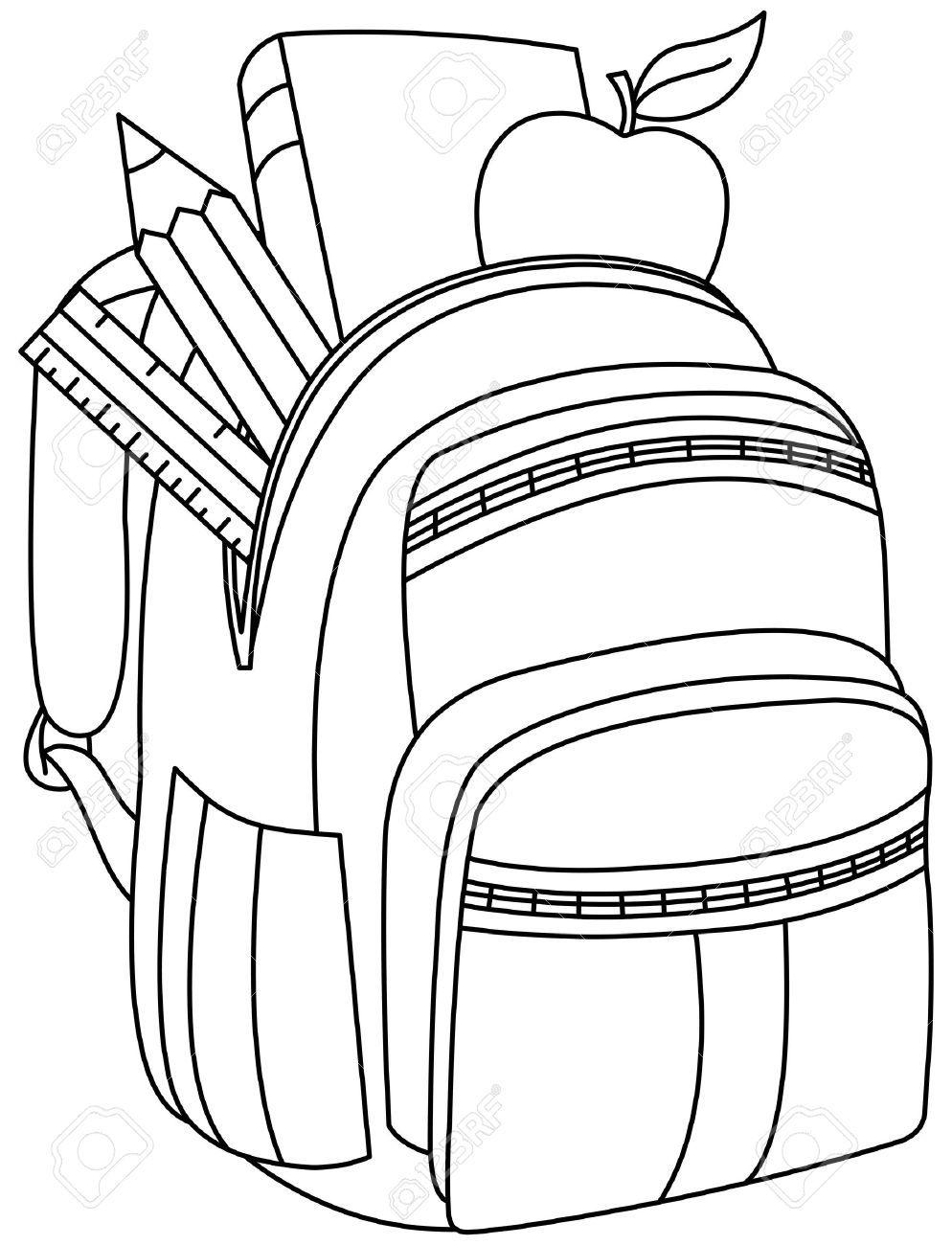 Dibujos De Mochilas Para Colorear Buscar Con Google School Coloring Pages Coloring Pages Free Printable Coloring Pages