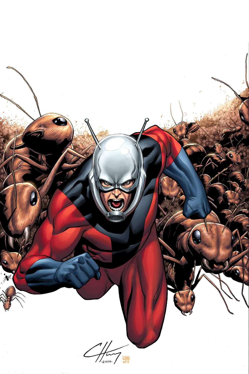 This is a photo of Zany Marvel Heroes Ant Man