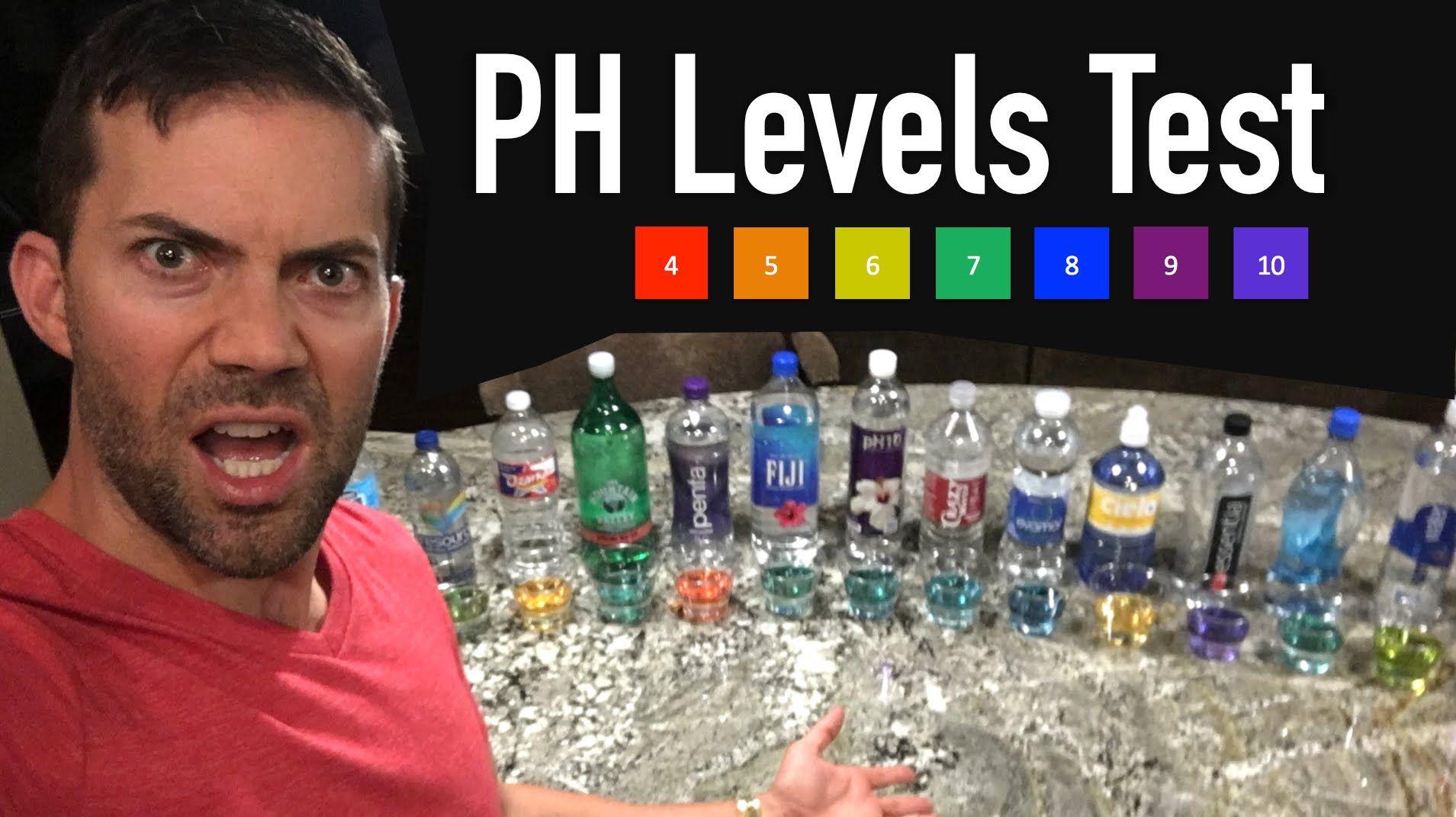 Ph Level Water Test