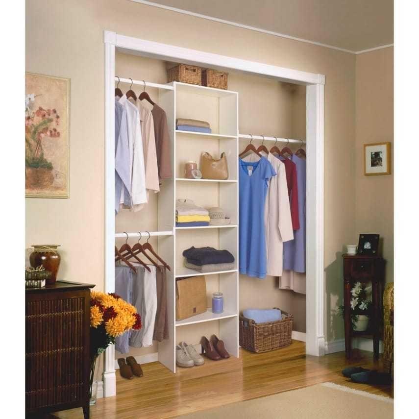Charmant Closetmaid Vertical 24in White Custom Closet Organizer For Camper RVu0027s TTu0027s  485 #ClosetMaid