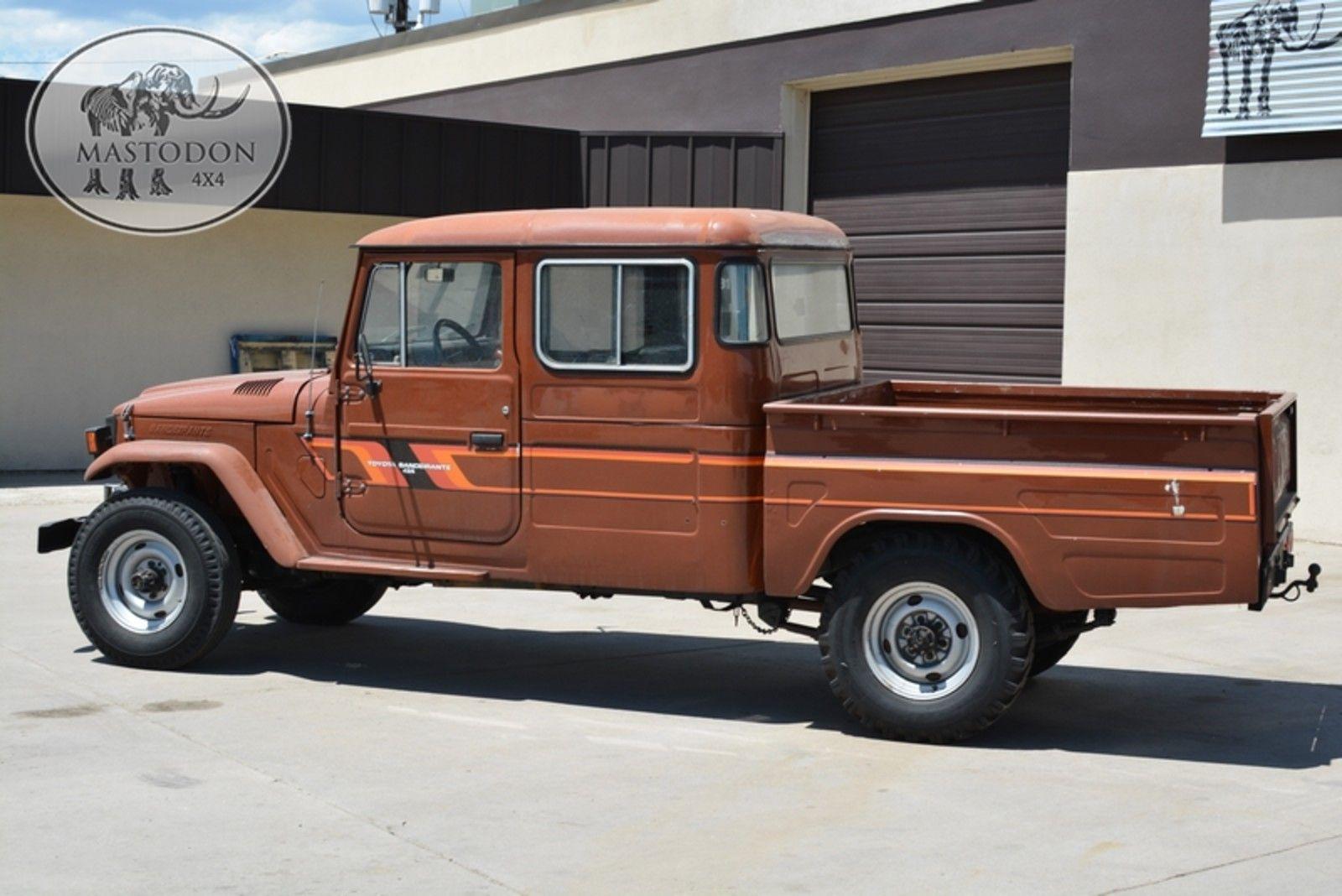 1989 Brown 4x4 Truck Fj Land Cruiser Fj40 Fj45 For Sale Photos Technical Specifications Description Land Cruiser 4x4 Trucks Cruisers