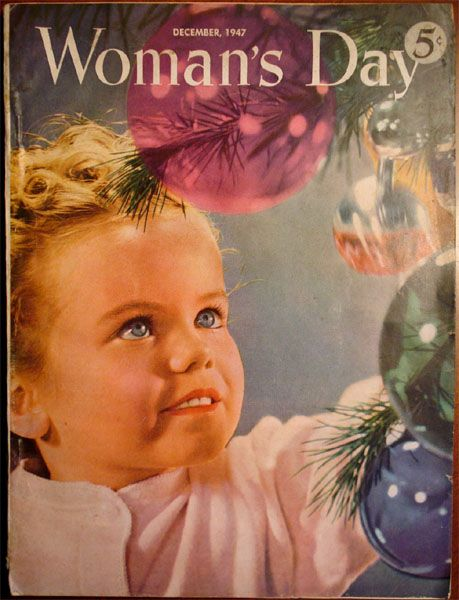 Vintage Christmas Magazine ~ Woman's Day ©1947