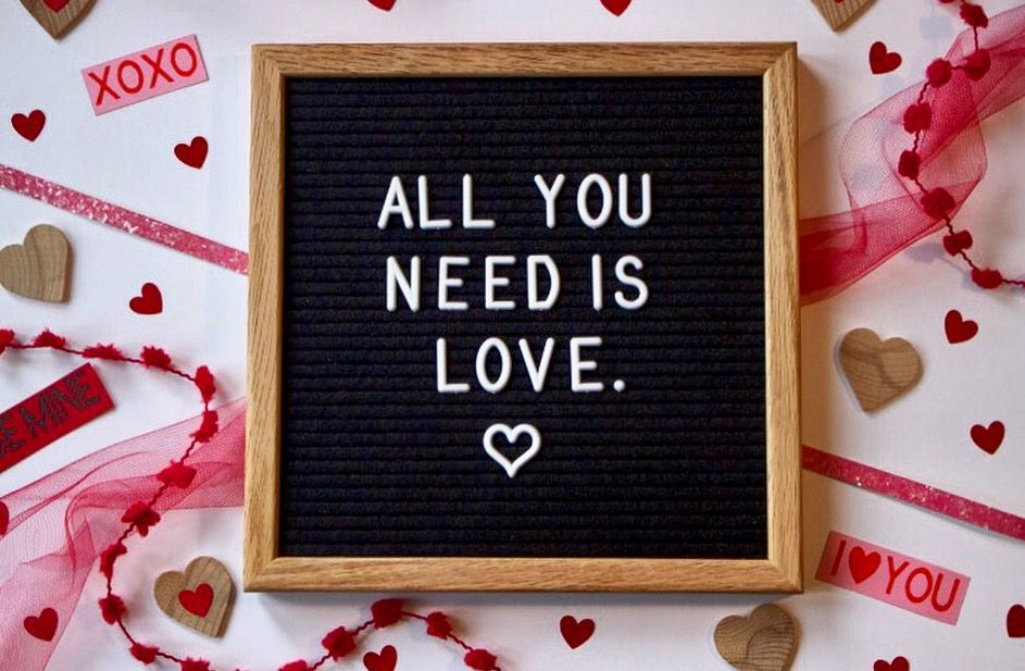 Valentine S Day Letter Board Ayearofletterboards
