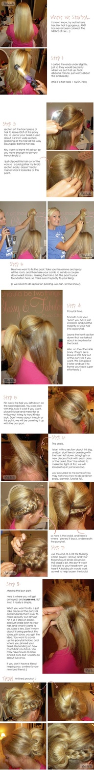 "Side Braid into Messy Bun Tutorial"" data-componentType=""MODAL_PIN"