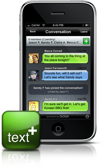 Download the text plus app aioutlet I can make free texts