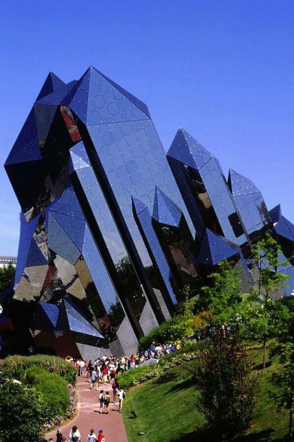 Architecture  inter design kinemax theater in futuroscope france also best images futuristic rh pinterest