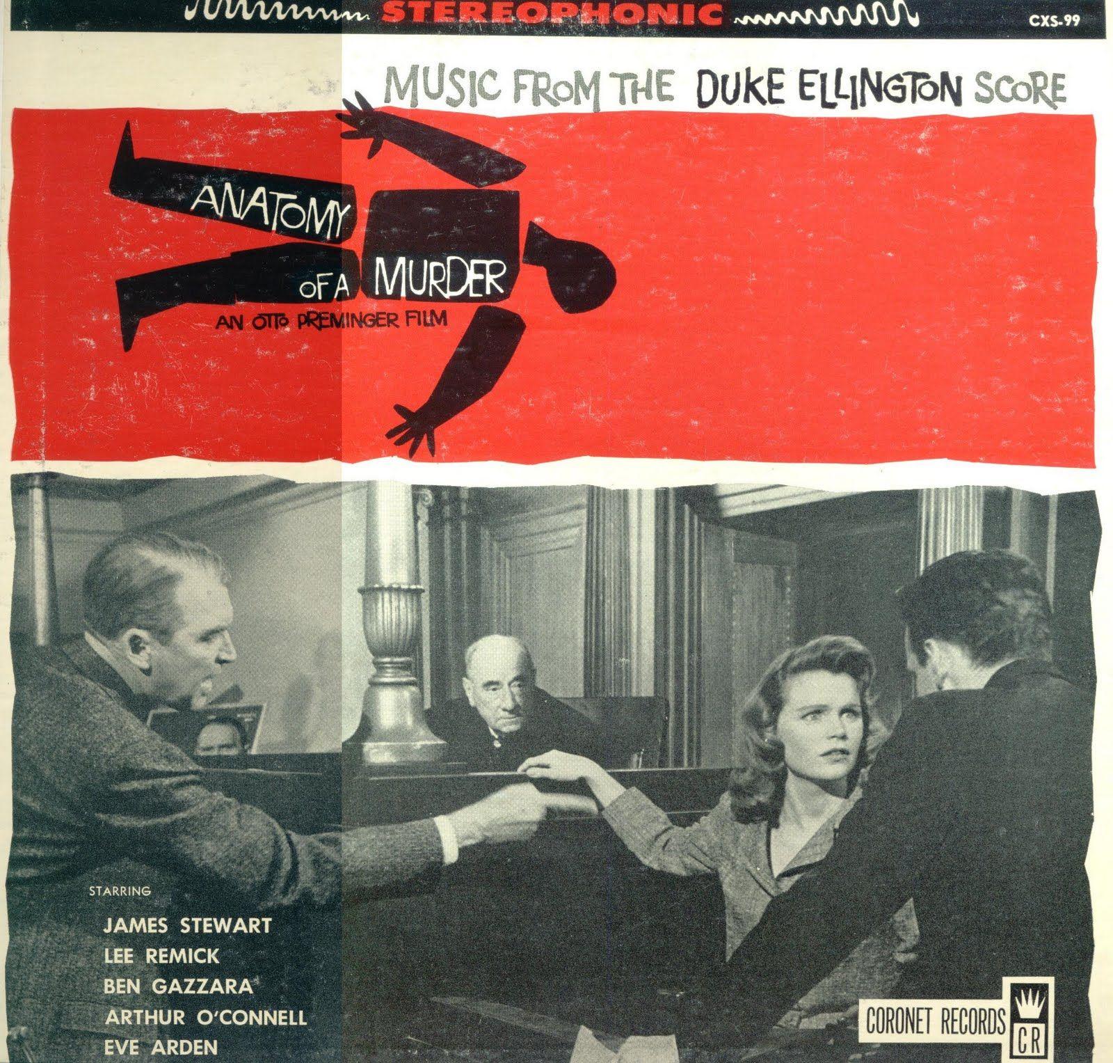 The Bob Friedman Orchestra - Anatomy of a Murder… | Crime Jazz ...