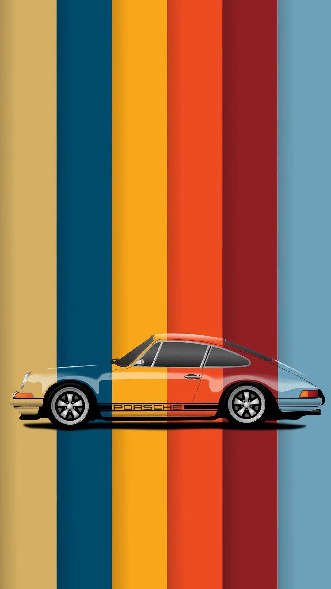 Porsche Minimal Wallpaper 1080x1920 Oneplus Wallpapers Xperia Wallpaper Samsung Galaxy Wallpaper