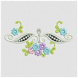 Ace Points Embroidery Design Pack: Heirloom Cutwork 5