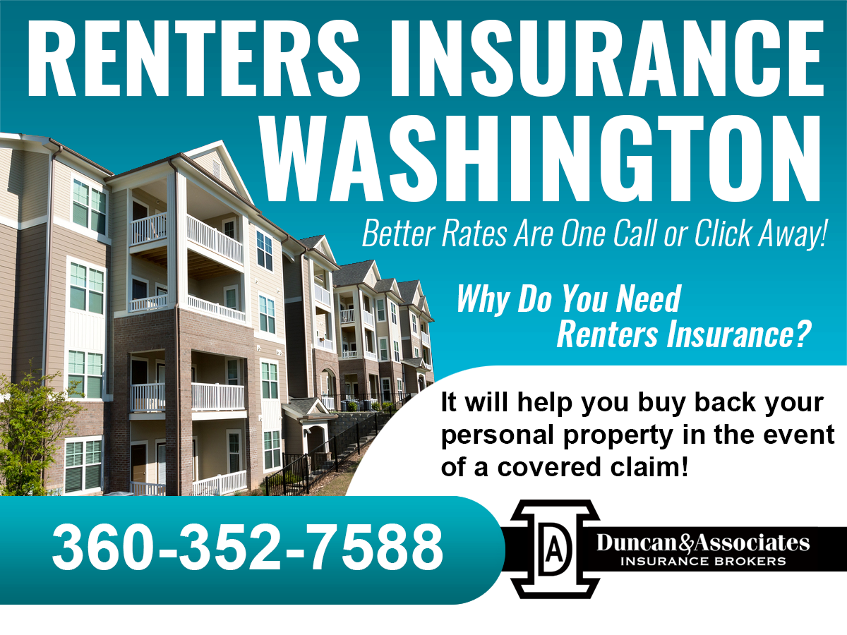 Why do you need Olympia renters insurance? Because it will