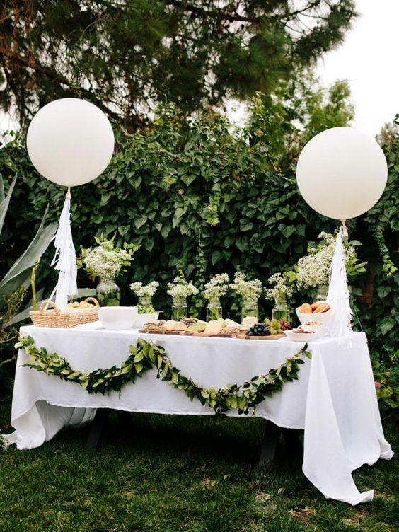 Giant White Balloon - Giant 36 Balloon Wedding Balloons | Giant White Balloons | Giant Balloons | Big White Balloons | Baby Shower Balloon #allwhiteparty