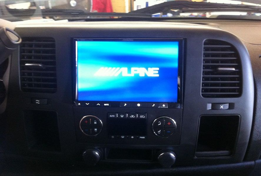 Alpine Ine Z928hd Custom Install Hd Radio Installation Radio