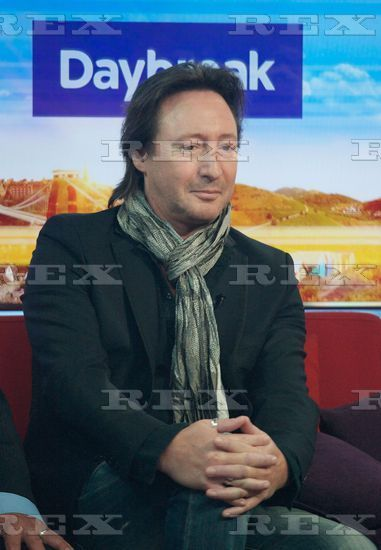 julian at Daybreak' TV Programme, London, Britain