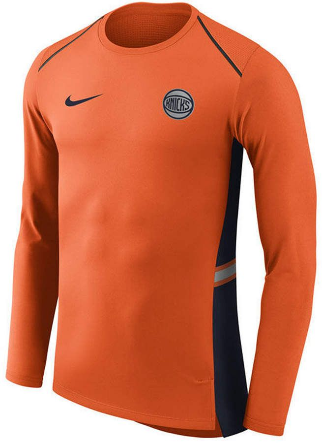 finest selection c1c4d 34dd6 Nike Men's New York Knicks City Edition Shooting Shirt ...