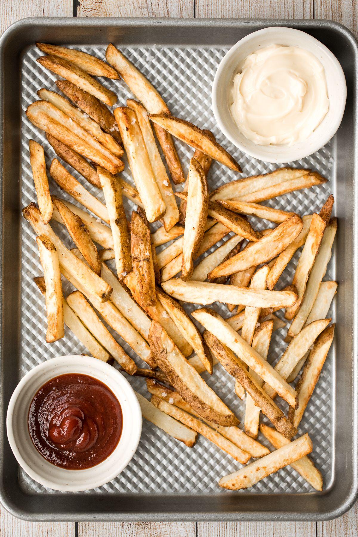 Crispy Air Fryer French Fries Recipe in 2020 Air fryer