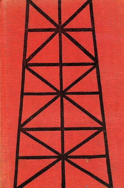 1958, binding illustration for Človek mení kožu by Bruno Jasieňski by 50 Watts, via Flickr