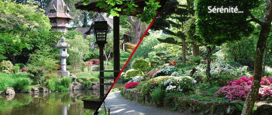 parc oriental de maulevrier pr s d 39 angers inspiration japonaise parcourir la france. Black Bedroom Furniture Sets. Home Design Ideas