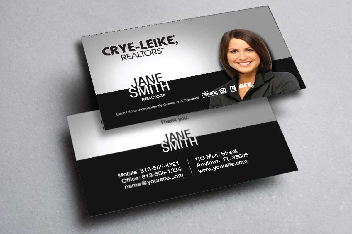 We Have New Crye Leike Business Cards Realtor Cryeleike Realestate Realtors Real Company Brochure Design Business Cards Online Real Estate Business Cards