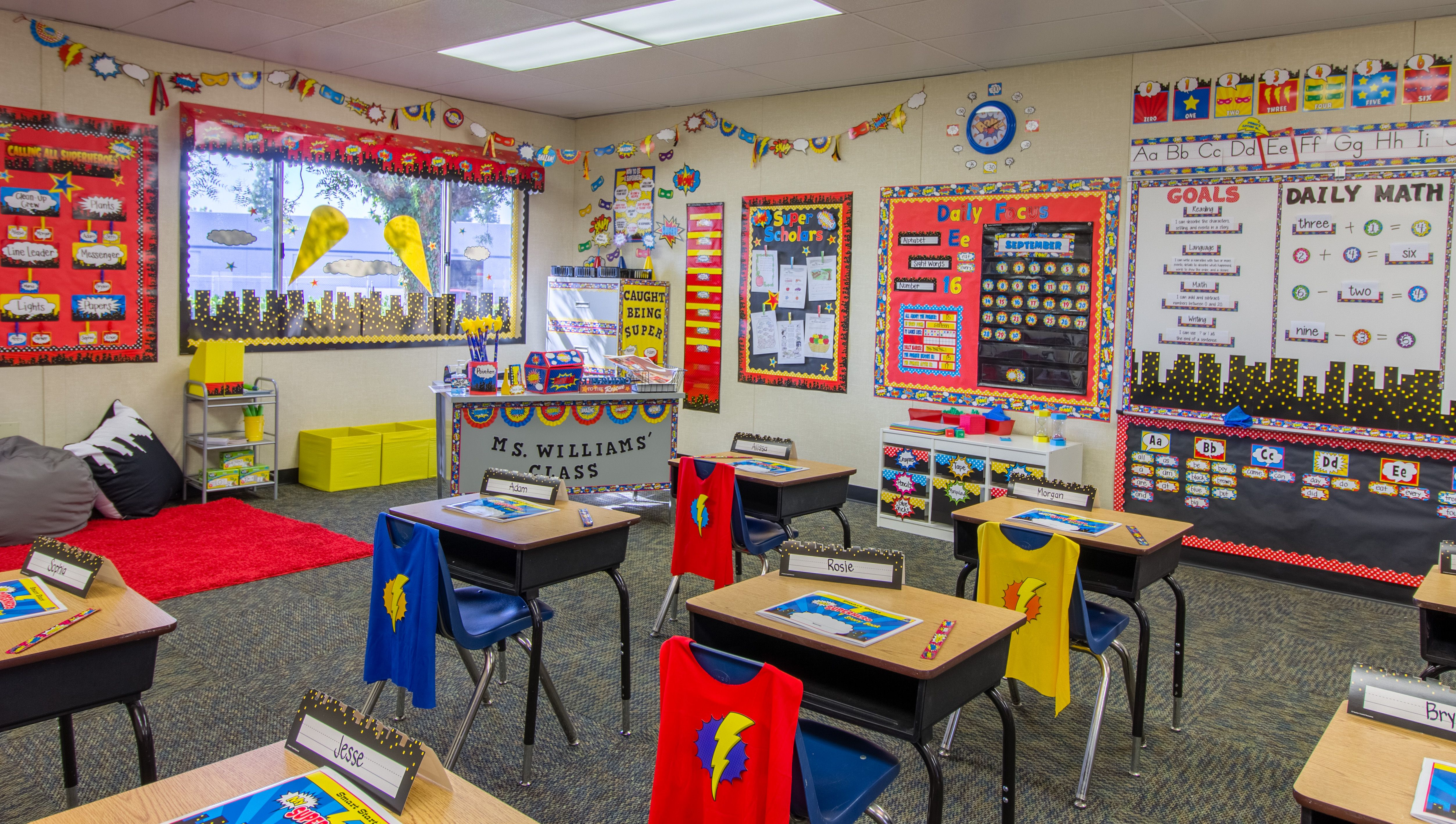 The Popular Superhero Themed Classroom From Teacher