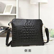Fashion new women leather Crocodile handbag shoulder bag tote satchel