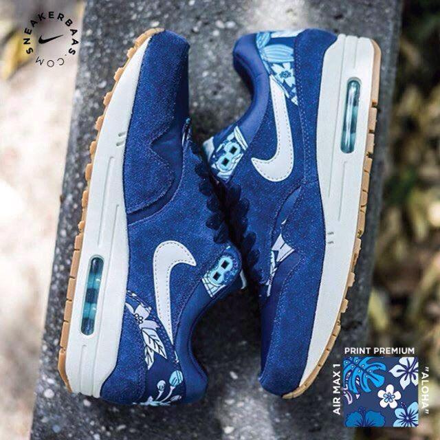 huge discount 3596c 1cf98  nike  Airmax1  blue  aloha  print  premium  sneakerbaas  baasbovenbaas Nike  Air Max  Aloha  Pack- Nike returns with a whole new