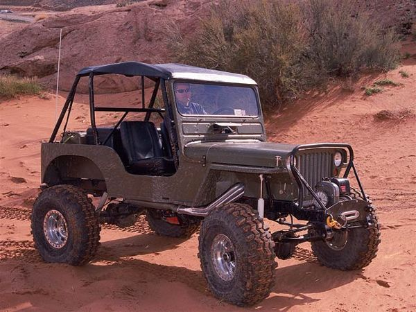 Flat Fender Jeep >> 1949 Custom Jeep Flatfender Posing Photo 9175963 Its A Jeep Thing