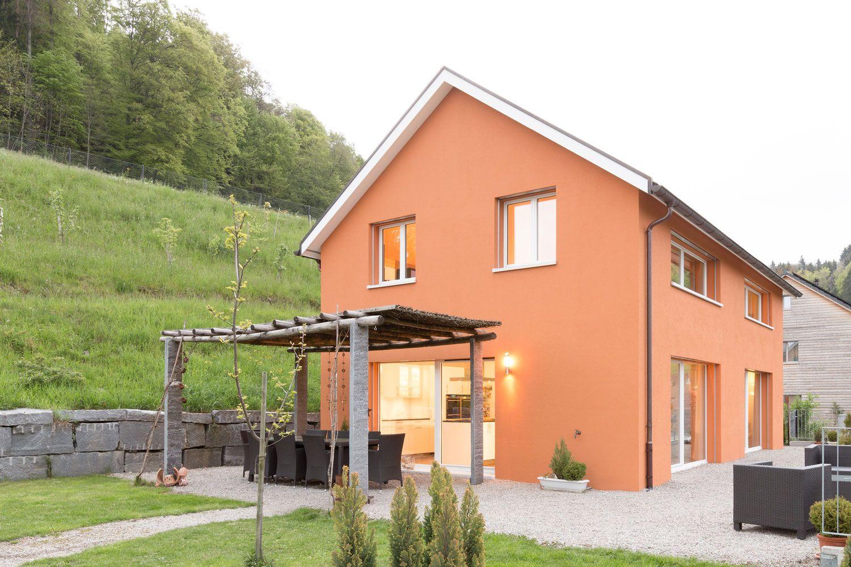 Exterior home design ideen einzelne geschichte architektarchitekturbueroarchitektenhauseinfamilienhausneubau