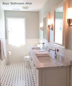 Easton Place Designs Blog Boys Bathroom Before And After Boys Bathroom Bathroom Bathroom Inspiration