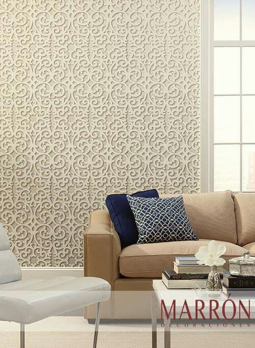 Papel Tapiz Md Marrón Wallpaper Diseño Decoración