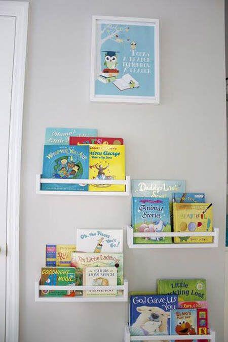 almacenaje en infantiles estanteras y repisas almacenaje ninos