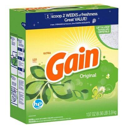 Gain High Efficiency Laundry Detergent Powder Original 120