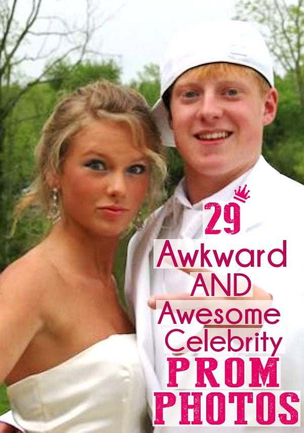 These Celebs Were Awesome When They Were Young From Superb To The - 38 awkward prom photos ever