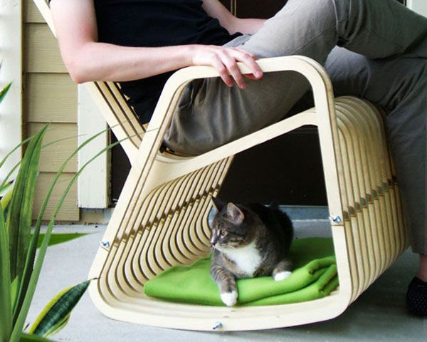 Houston Architect Looks To Do Just That With His Latest Project In The Patent Pending Rocking 2 Gether Chair