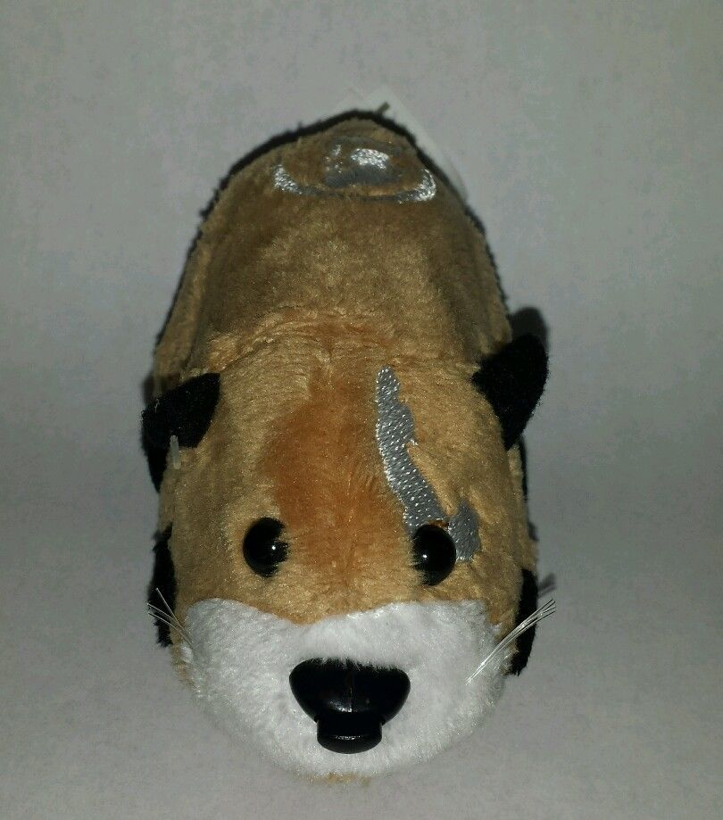 Zhu Zhu Pet Hamster Azer Brown White Black With Tag Tested And