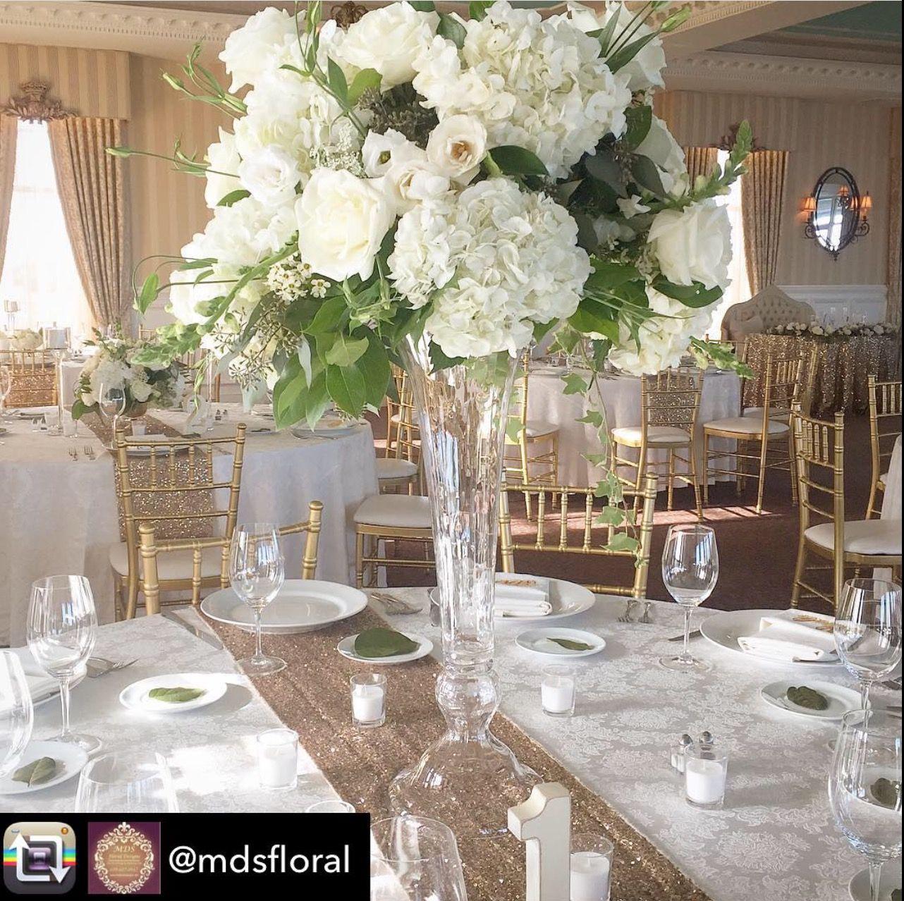 Yacht wedding decoration ideas  Beautiful flowers by MDS Floral and Design Mallard Island Yacht