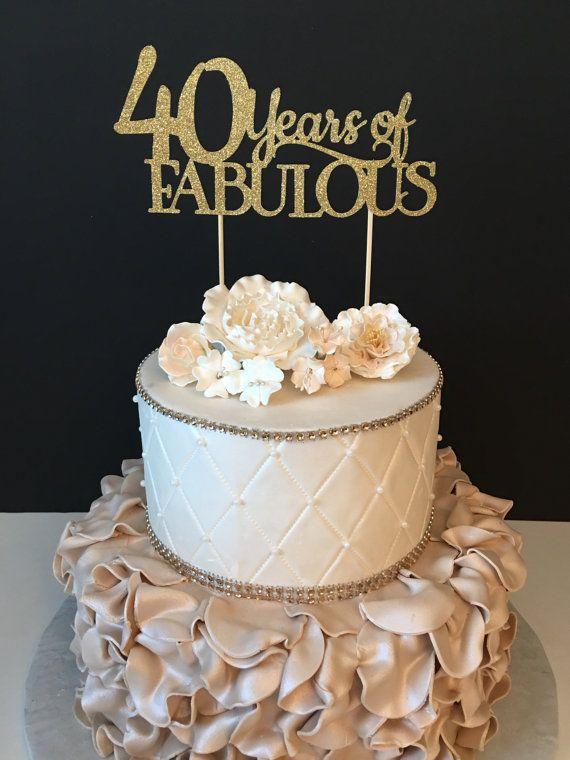 Fine Any Number Birthday Cake Topper Wedding Anniversary Cake Topper Personalised Birthday Cards Cominlily Jamesorg