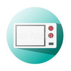 Microwave icon supermaket #button #fotolia #design #concept #tool #cart #shop #online #services #icon #vector #business
