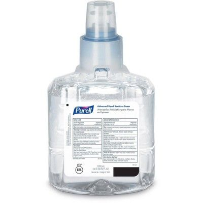 Purell Ltx 12 Advanced Instant Hand Sanitizer 1200ml Foam Refill