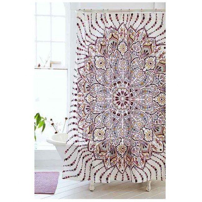 rideau de douche ethnique