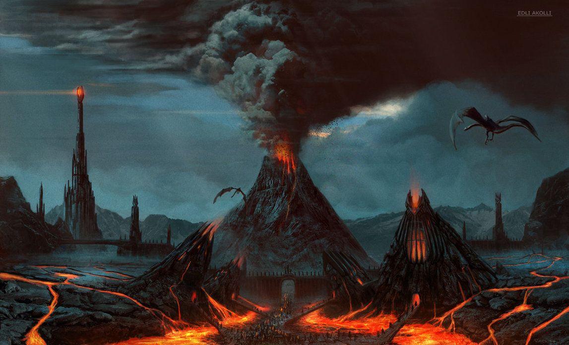 Mordor by Edli on deviantART