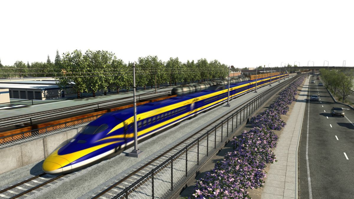 California's bullet train is delayed three years, but will