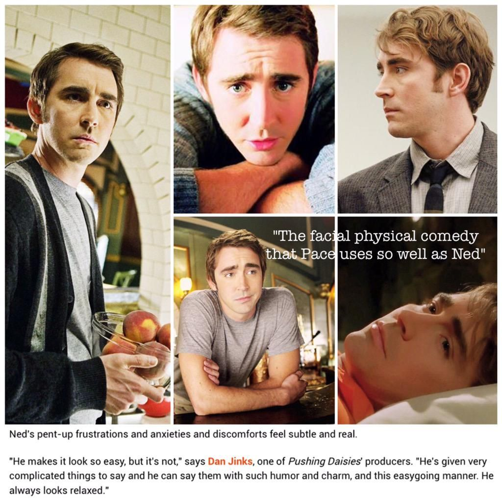"""He makes it look so easy, but it's not,"" says Dan Jinks, one of the Pushing Daisies' producers. ""He's given very complicated things to say and he can say them with such humor and charm, and this easygoing manner. He always looks so relaxed."""