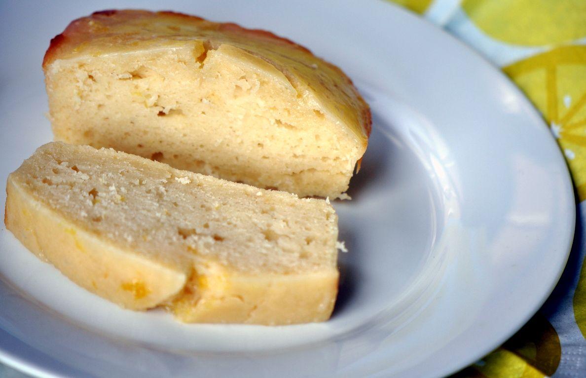 Vanilla Lemon Yogurt Cake
