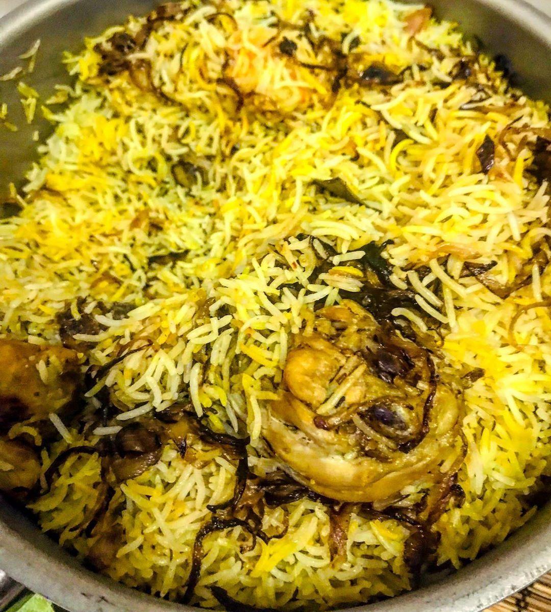 Yet another chicken biryani 🥰😍🥰😍